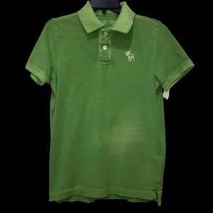 Abercrombie & Fitch Men's Large Green Muscle Shirt